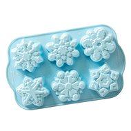 NW Frozen forma na mini bábovky Sněhové vločky 6ks