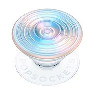 Držák na mobilní telefon PopSockets PopGrip Gen.2, Ripple Opalescent Blue, opalizující, 3D bílo-modravý