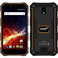 myPhone Hammer Energy LTE oranžovo-černý - Mobilní telefon