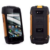 MyPhone Hammer Iron 2 oranžovo-černý - Mobilní telefon