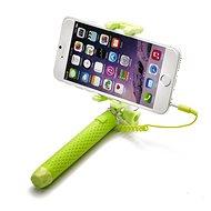 CELLY Mini Selfie Green - Selfie tyč