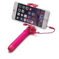 CELLY Mini Selfie Pink - Selfie tyč