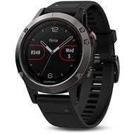 Garmin Fenix 5 Gray Optic Black band