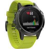 Garmin Fenix 5 Gray Optic Yellow band - Chytré hodinky
