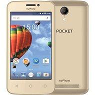 MyPhone Pocket zlatý - Mobilní telefon