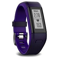 Garmin vívoSmart Optic s GPS Purple (L) - Fitness náramek