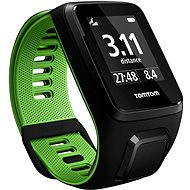 TomTom Runner 3 Cardio + Music (L) černo-zelený - Sporttester