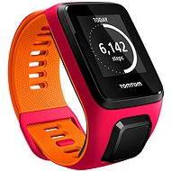 TomTom Runner 3 Cardio + Music (S) růžovo-oranžový - Sporttester