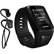 TomTom Spark 3 Cardio + Music + Bluetooth sluchátka (S) černý - Sporttester