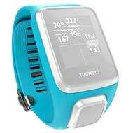 TomTom k GPS hodinkám světle modrý L - Řemínek