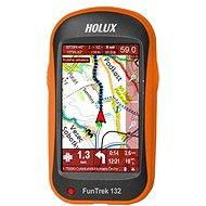 Holux Funtrek 132 mapy CZ/ SK + TM CZ 25 - GPS cyklocomputer