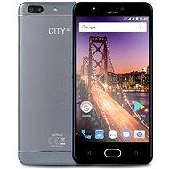 myPhone City XL stříbrný - Mobilní telefon