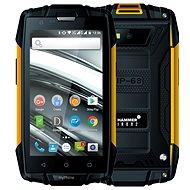 myPhone Hammer Iron 2 oranžovo-černá - Mobilní telefon