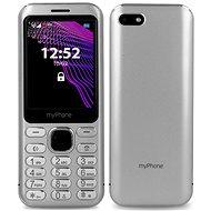 myPhone Maestro stříbrná - Mobilní telefon