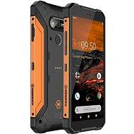 MyPhone Hammer Explorer oranžový - Mobilní telefon