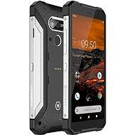 MyPhone Hammer Explorer stříbrný - Mobilní telefon