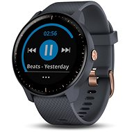 Garmin Vivoactive 3 Music Granite Blue Rose Gold - Smartwatch