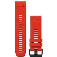 Garmin QuickFit 26 silikonový červený - Řemínek