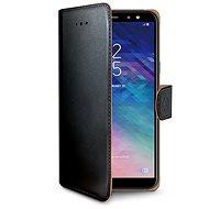 CELLY Wally pro Samsung Galaxy A6 Plus černé - Pouzdro na mobilní telefon