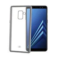 CELLY Laser pro Samsung Galaxy A8 Plus (2018) stříbrné - Ochranný kryt