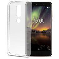 CELLY Gelskin pro Nokia 6.1 Plus bezbarvý - Kryt na mobil