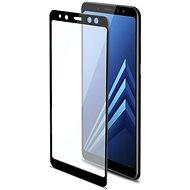CELLY 3D Glass pro Samsung Galaxy A8 Plus (2018) černé - Ochranné sklo