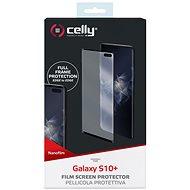 CELLY Nano Film pro Samsung Galaxy S10+ black - Ochranná fólie