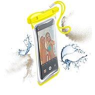 Cellularline VOYAGER 2019 žluté - Pouzdro na mobilní telefon