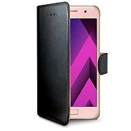 CELLY Wally pro Samsung Galaxy A3 (2017), černé - Pouzdro na mobilní telefon