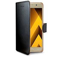 CELLY Wally pro Samsung Galaxy A5 (2017), černé - Pouzdro na mobilní telefon