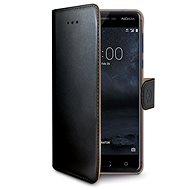 CELLY Wally pro Nokia 5 černé - Pouzdro na mobilní telefon