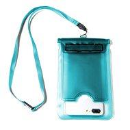 """CELLY Splash Bag pro telefony 5.7 """" modré - Pouzdro na mobilní telefon"""