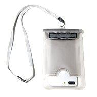 """CELLY Splash Bag pro telefony 5.7 """" bílé - Pouzdro na mobilní telefon"""