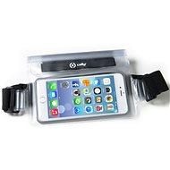 """CELLY Splash Belt pro telefony 5.7 """" bílé - Pouzdro na mobilní telefon"""