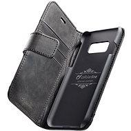 Cellularline Supreme pro Samsung Galaxy S8 černé - Pouzdro na mobilní telefon