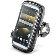 """Interphone SMART pro telefony do velikosti 6.5"""" úchyt na řídítka černé - Pouzdro na mobilní telefon"""