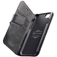 Cellularline Supreme pro Apple iPhone 7/8 černé - Pouzdro na mobilní telefon