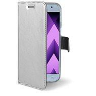 CELLY Air pro Samsung Galaxy A3 (2017) stříbrné - Pouzdro na mobilní telefon