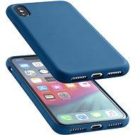 CellularLine SENSATION pro Apple iPhone XS Max modrý - Ochranný kryt