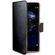 CELLY Wally pro Huawei P10 Lite černé - Pouzdro na mobilní telefon