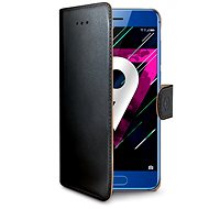 CELLY Wally pro Honor 9 černý - Pouzdro na mobilní telefon