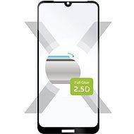 FIXED FullGlue-Cover pro Honor 8S, lepení přes celý displej, černé - Ochranné sklo