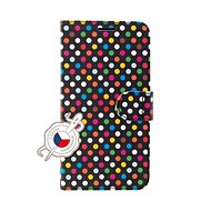 FIXED FIT pro Apple iPhone 11 motiv Rainbow Dots - Pouzdro na mobil