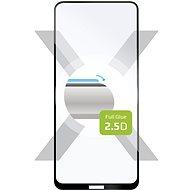 FIXED FullGlue-Cover pro Nokia 3.4 černé - Ochranné sklo