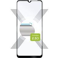 FIXED FullGlue-Cover pro Samsung Galaxy A12 černé - Ochranné sklo