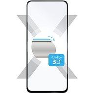 FIXED 3D FullGlue-Cover pro Samsung Galaxy A52/A52 5G/A52s 5G černé - Ochranné sklo