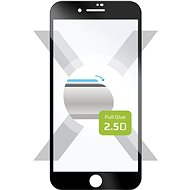 FIXED FullGlue-Cover pro Apple iPhone 7 Plus/8 Plus černé - Ochranné sklo