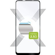 FIXED FullGlue-Cover pro Samsung Galaxy A21s černé - Ochranné sklo