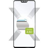 FIXED FullGlue-Cover pro Honor 9X Lite černé - Ochranné sklo