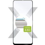 FIXED FullGlue-Cover pro Realme X50 5G černé - Ochranné sklo
